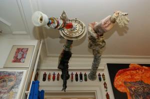 Zwei grössere Objekte an der Wand, Keine Daten, Foto Matthias Plath, SONY DSC