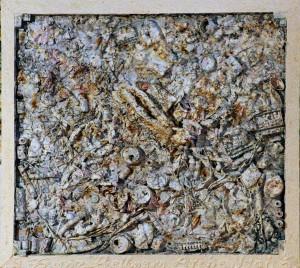 """Arche Noah"", WVZ 1203, 90 cm x 100 cm, 1996, Foto Manfred Rinderspacher"