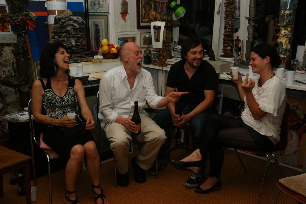 Der letzte Talk: Ulrike, Franz, Rudi und Irina, SONY DSC