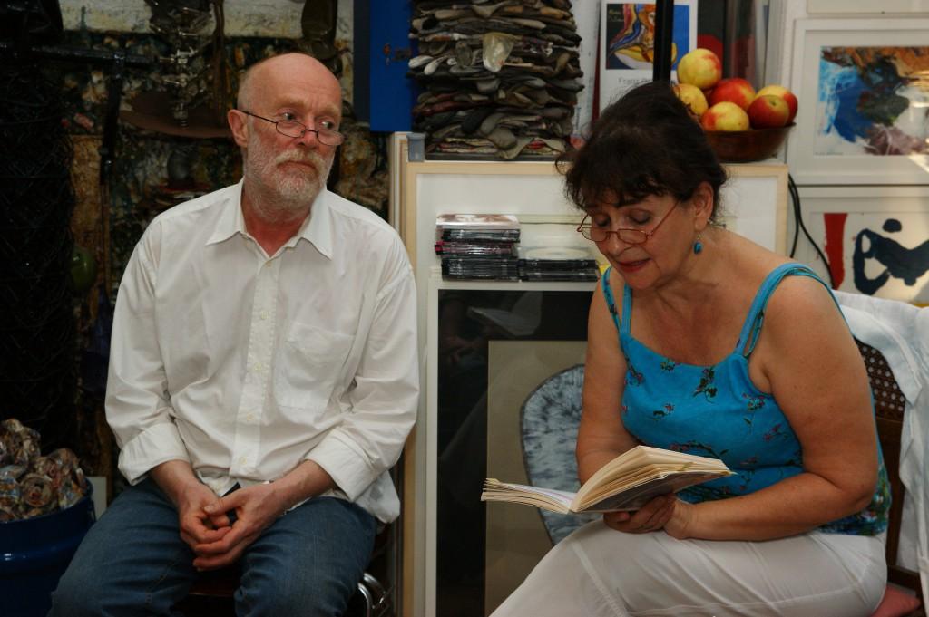 Die Schriftstellerin Nora Noé liest am dritten Festivaltag, SONY DSC