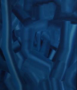 """""""Schreitender"""", 1990, S. s. M. r., beschädigt, DSC05885"""