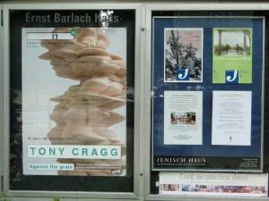 Ausstellungshinweis Ernst Barlach Haus, DSC07618