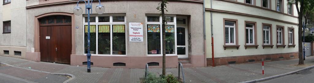 Der stadtbekannte Mannheimer Treffpunkt für Bedürftige: Die Platte