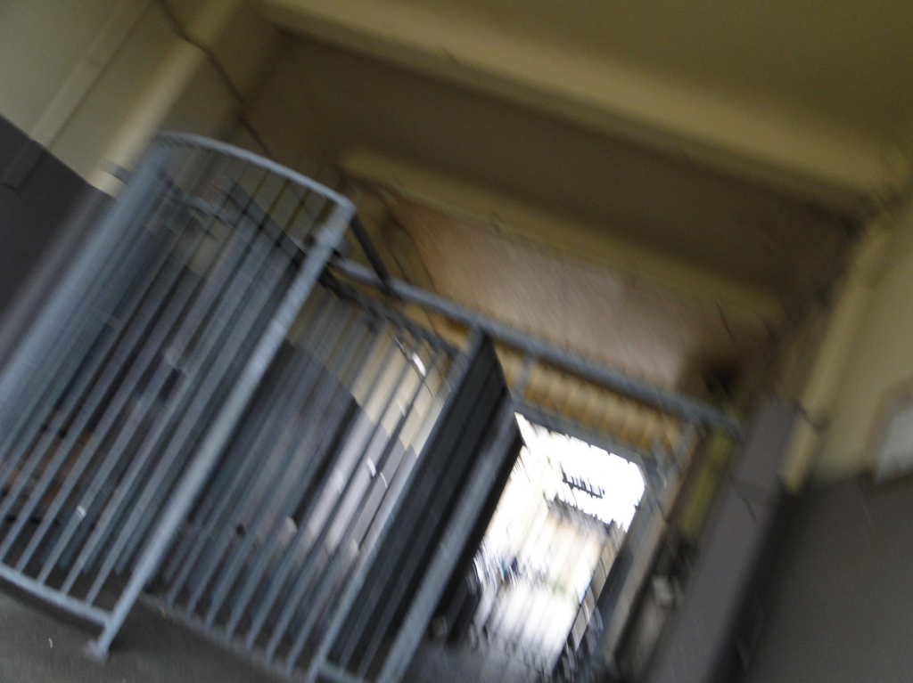 Eingang Asyl Ecke Industriestrasse / Pyramidenstrasse