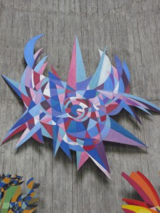Springwerk aus dem 'abstrakten Altar'