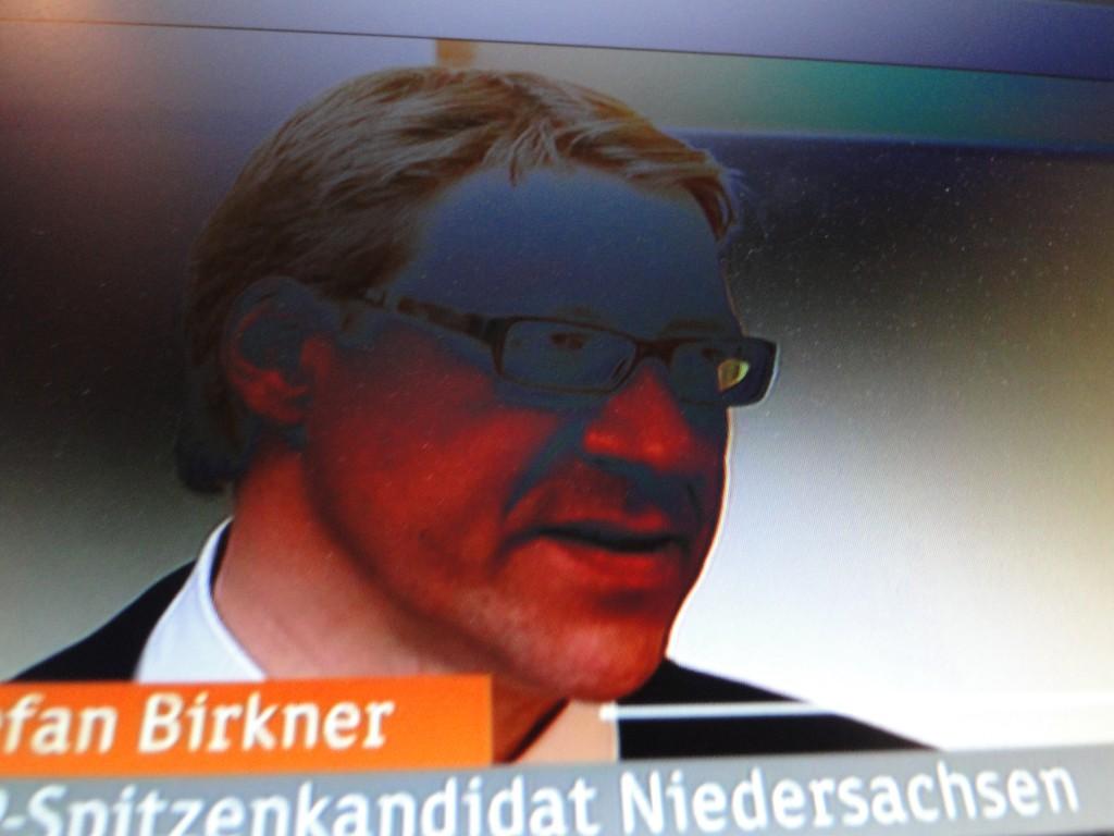 Birkner, FDP, dem Tod geweiht...