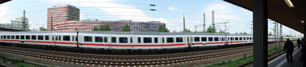 S-Bahn-Station Nähe HH-Wilhelmsburg