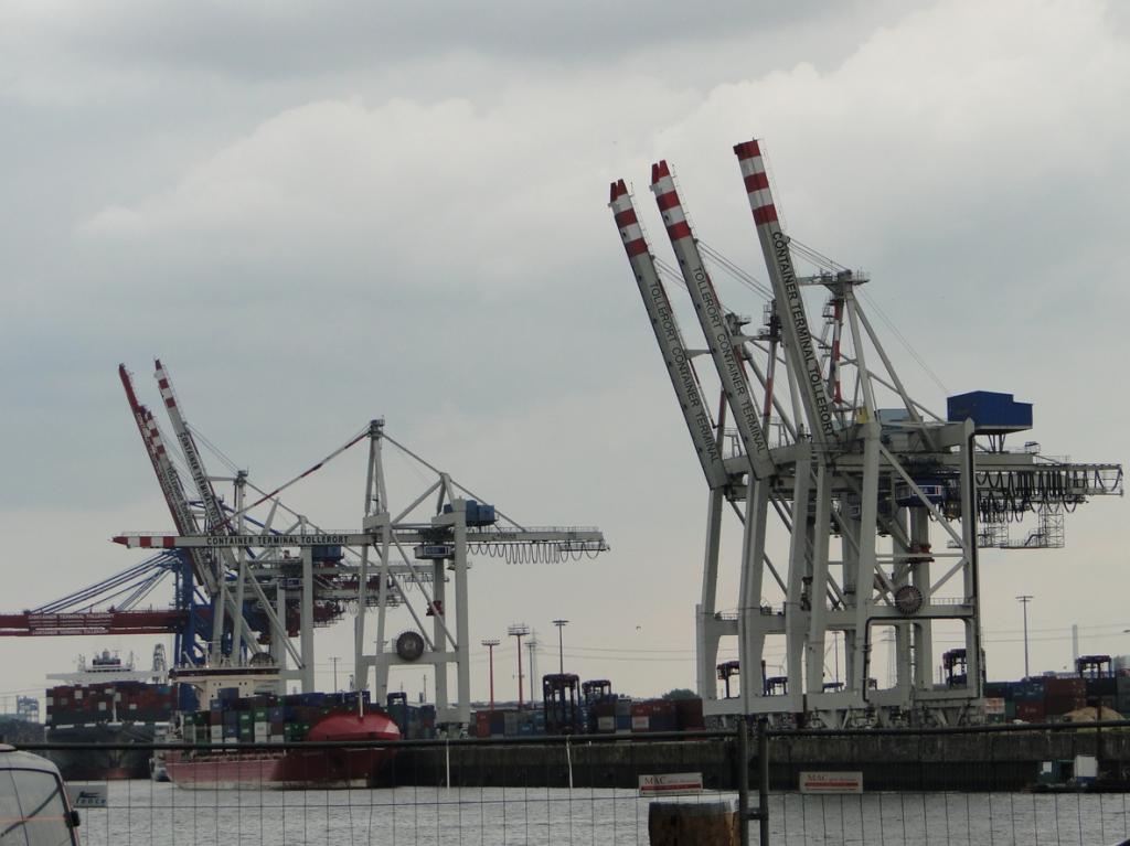Hamburg Container-Hafen