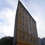 Architektonischer Baurest von der Abrissbirne verschont gegenüber Galerie ELEKTROHAUS