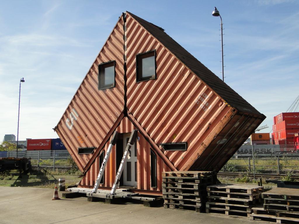 Den Künstler bzw. Urheber dieses Baus würde ich gerne kennenlernen...