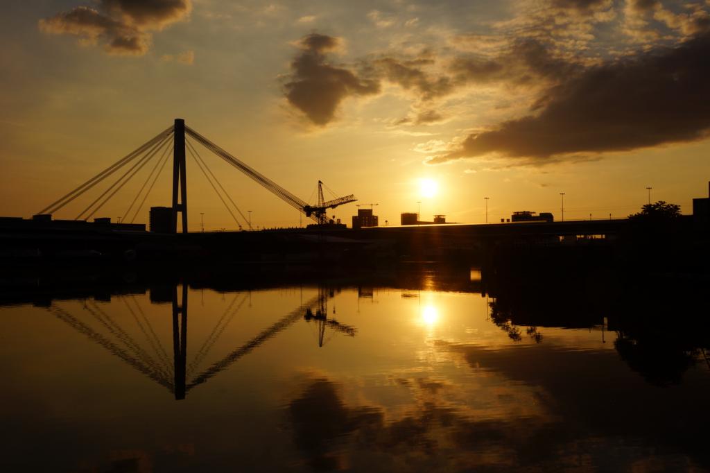 Die Kurt-Schumacher-Brücke