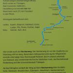 Schade, der Neckarweg nimmt die Insel nicht mit