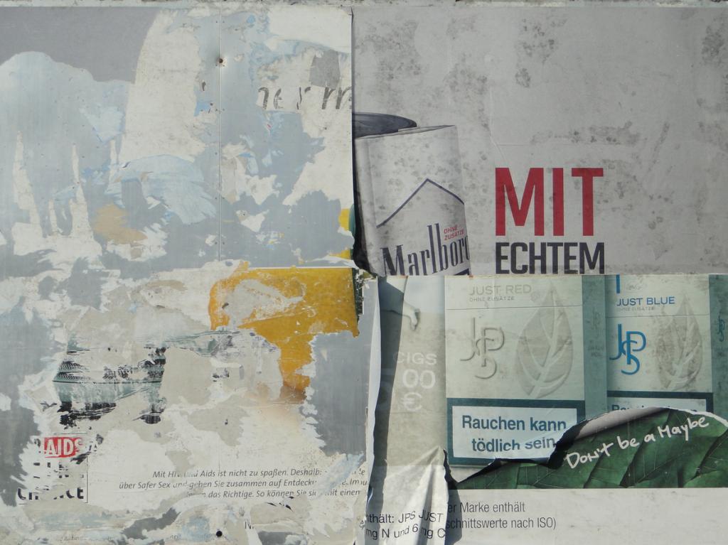 Ein Produkt des Zufalls in der Industriestrasse im Mannheimer Hafen