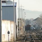 Die Essener Strasse Richtung Odenwald