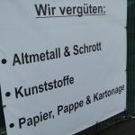 Wie ehedem: Lumpen, Alteisen, Papier...