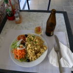 Zu Tisch in Portimao...