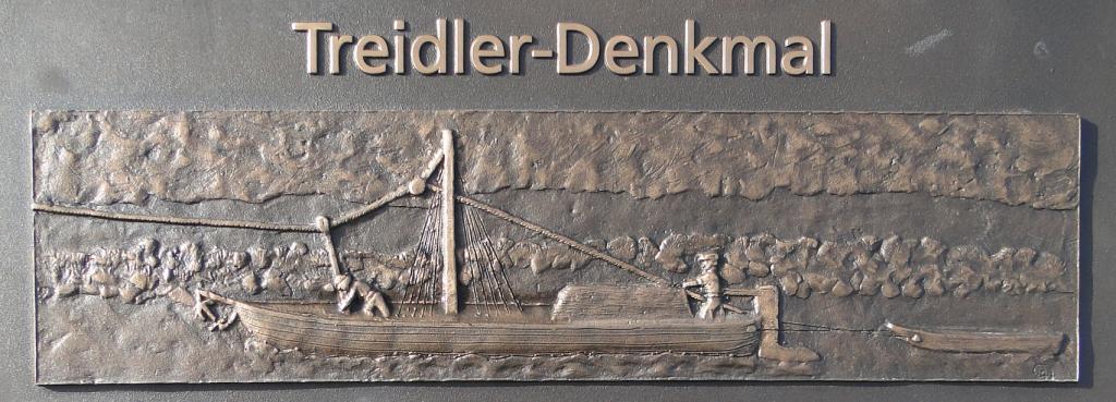 Eberbach war ein zentraler Ort des Treidelns am Neckar. Die Schifffahrt beendete diese Transportweise.