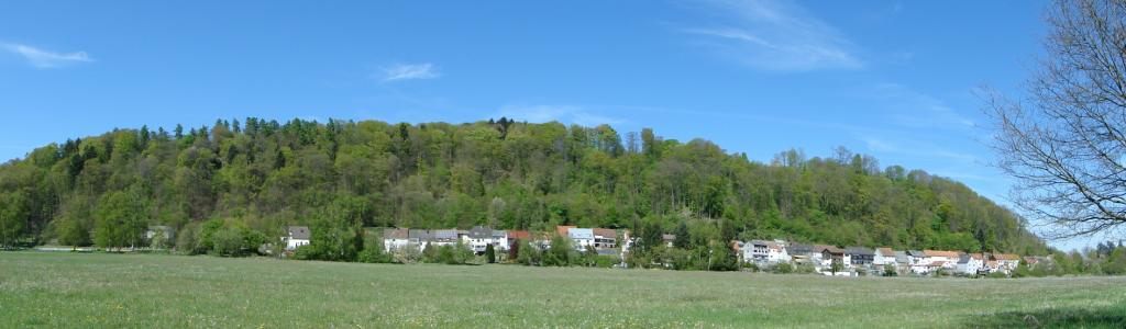 Landschaftlich-dörfliches Idyll Richtung Einöd