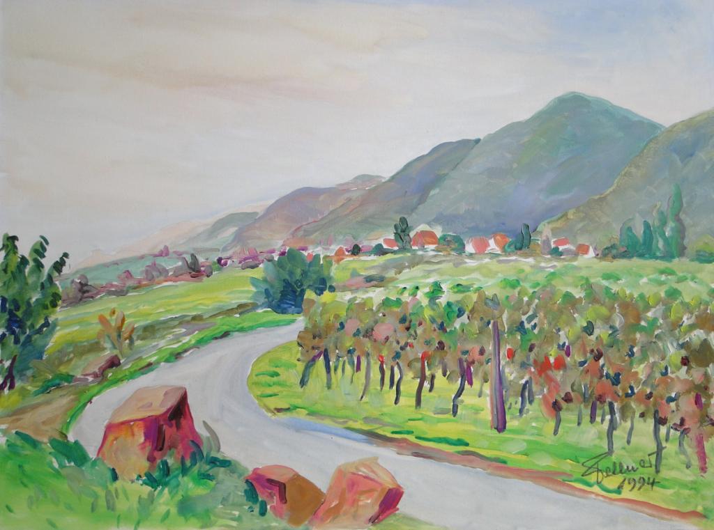 1994, Landschaft bei Königsbach