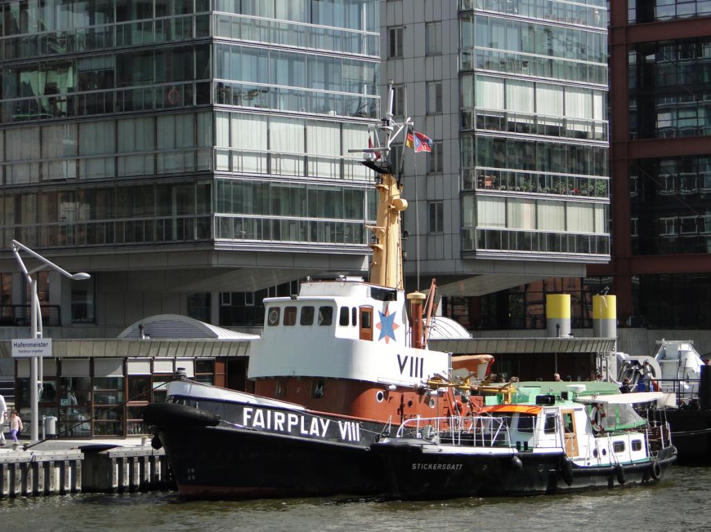 Am Kaiserkai / Sandtorhafen / Traditionsschiffhafen