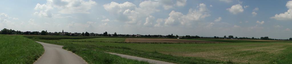 Blick zurück auf Otterstadt