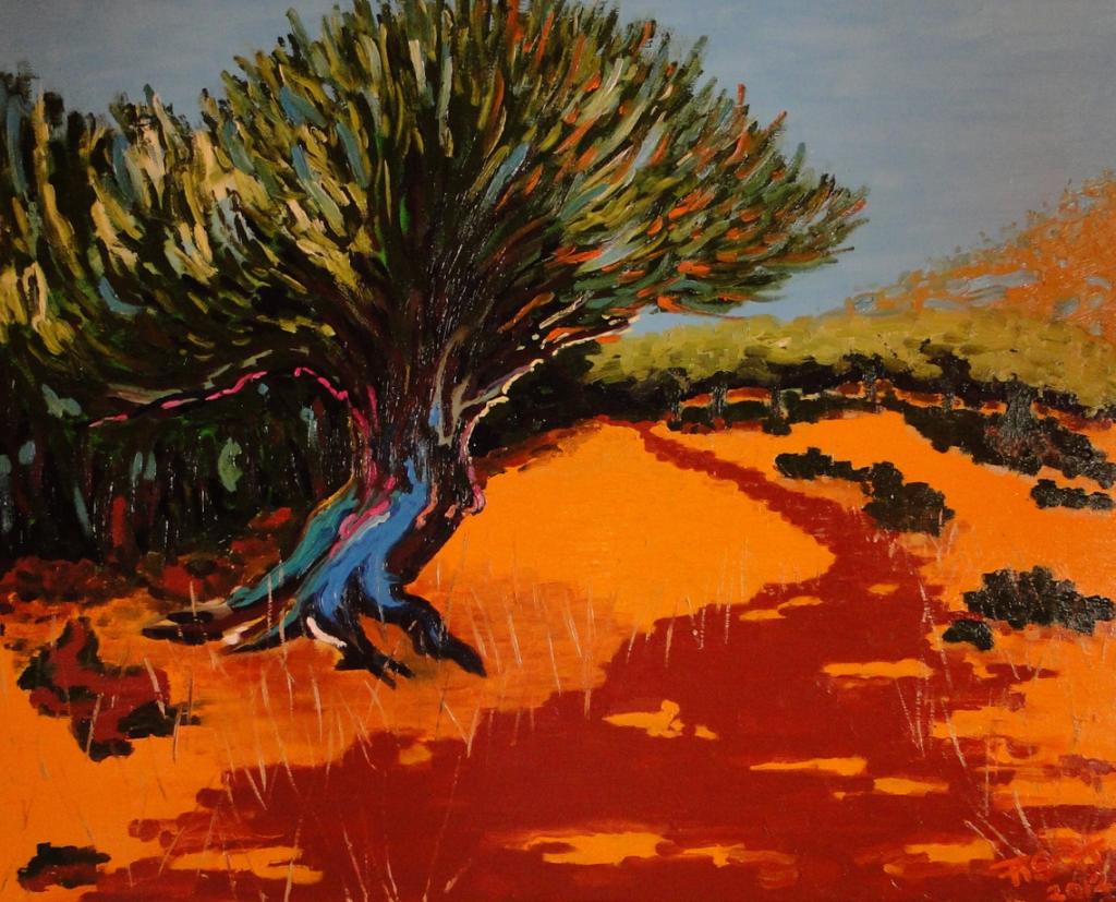 'Mani', 80x100 cm, Öl/Lw, 2012, Sign. r. u. ...