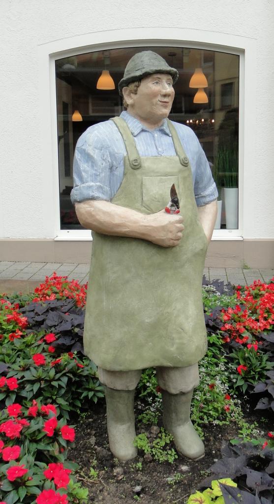 Gärtner am Stadteingang Kesslergasse