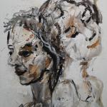 Glück, 2012, 120 x 160 cm,Mischtechnik auf Leinwand ...