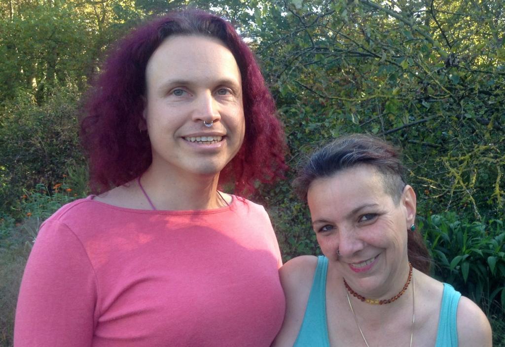Josephine (li.) und Sabine