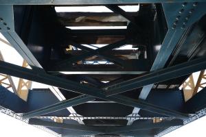 Stahlkonstruktion Nietbauweise wie beim Eiffelturm