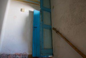 Der eigentliche Eingang zur Atelierwohnung