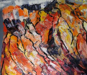"""""""o.T."""", WVZ 2356, 2004, Sign. s. r., Bild 40 x 60"""