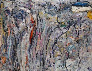 "o.T."", WVZ 2368, 2004, Sign. r. o., Bild 40 x 60"