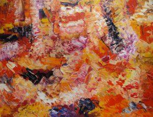 """""""o.T."""", WVZ 2358, 2004, Sign. l. u., Bild 40 x 60"""