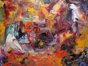 """""""o.T."""", WVZ 2363, 2004, Sign. l. u., Bild 40 x 60"""