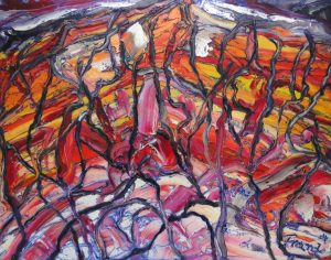 """o.T."", WVZ 2375, 2004, Sign. r. u., Bild: 40 x 60"