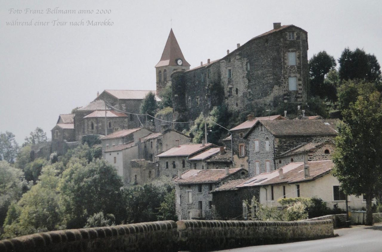 Von LE PUY-EN-VELAY nach St-Privat-d'Allier
